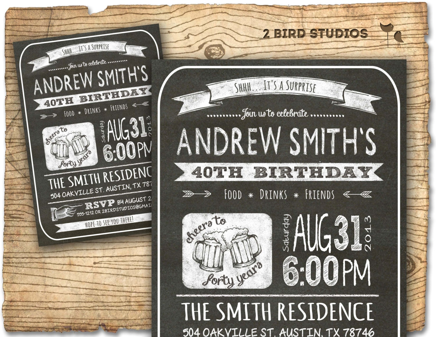 30th birthday invitation Male birthday party invitations – Male 30th Birthday Invitations