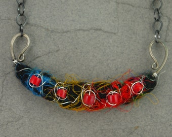 Talisman - Milagros Series Mixed Media Necklace