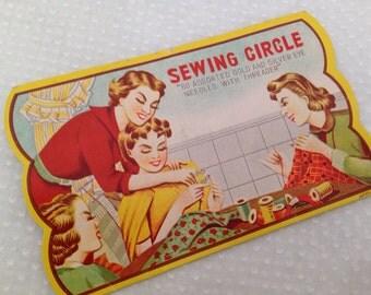 Vintage Needle Card