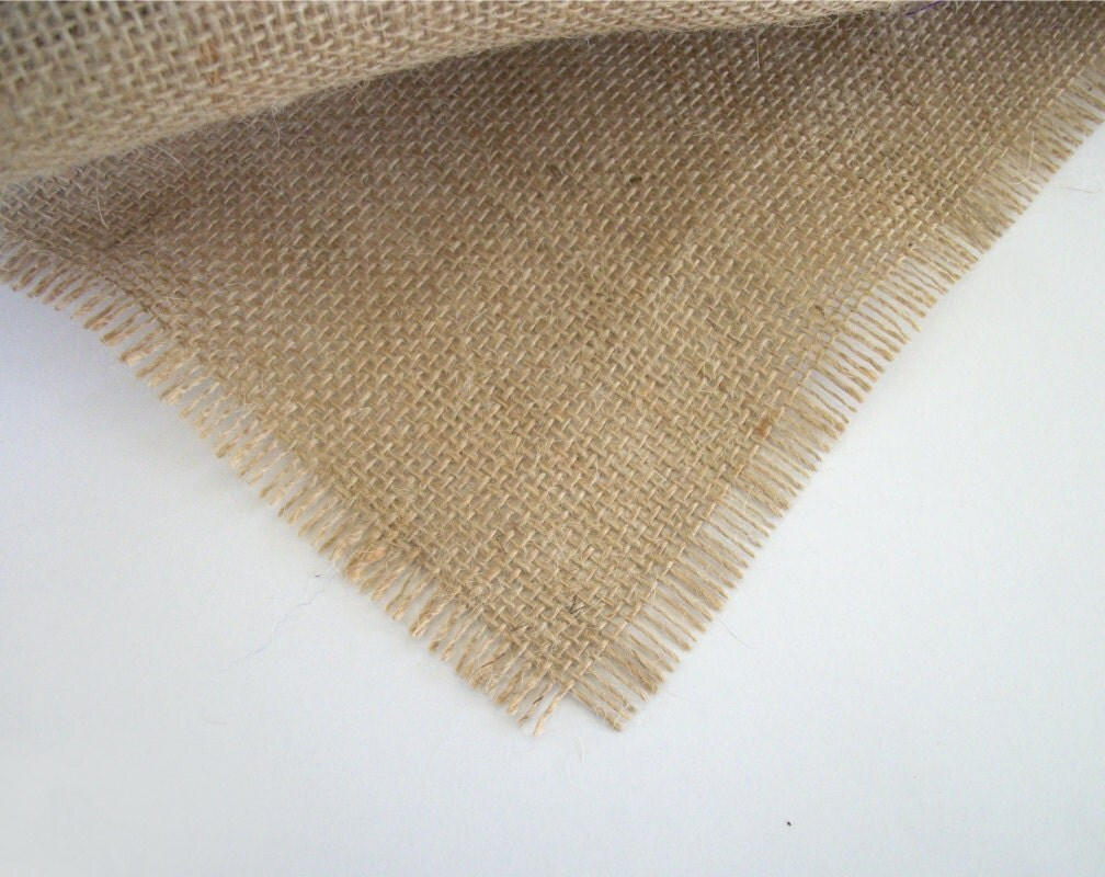 Natural burlap table runner 60 inches x 12 by for 12 ft table runner