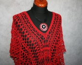 lace tunic poncho casual evening only for customer order