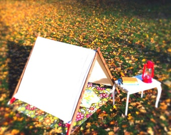 A-Frame CANVAS Tent for Little Ones