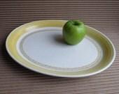 Hacienda Gold Earthenware Serving Platter by Franciscan