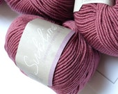 Sublime Yarn Cashmere Merino Silk Double Knit 50g (116m / 127yds) Dark Pink