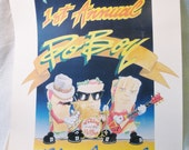 Collecter's Poster, 1989 New Orleans 1st annual Po Boy and Blues Festival