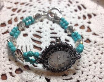 Turquoise Southwestern Watch.