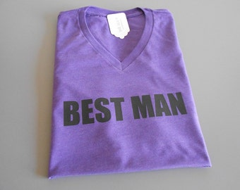 Custom Best Man Shirt. Groom T-Shirt. Small Medium Large XL. Father of the Bride. Father of the Groom. Bachelor Party Shirt.
