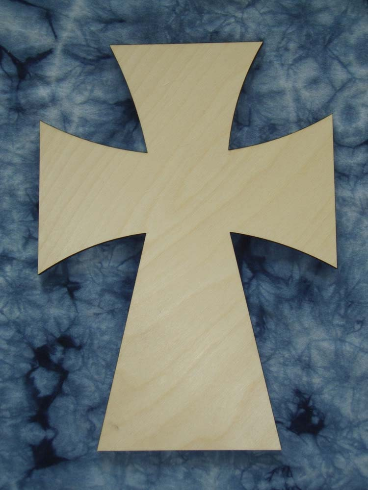 Unfinished Wooden Craft Crosses