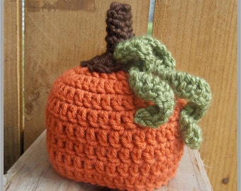 Baby Pumpkin Hat Pattern ... Instant Download