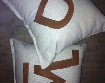 Cattle Brand Pillows!