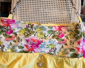 Amy Butler Fabric large Emma purse