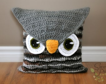 Owl Be Your Buddy Pillow Cover and Bag Crochet Pattern pdf