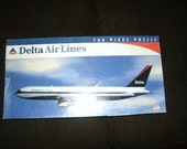 Puzzle Delta Air Lines Boeing 767 700 Pieces Home Decor Toys New Vintage Never Opened