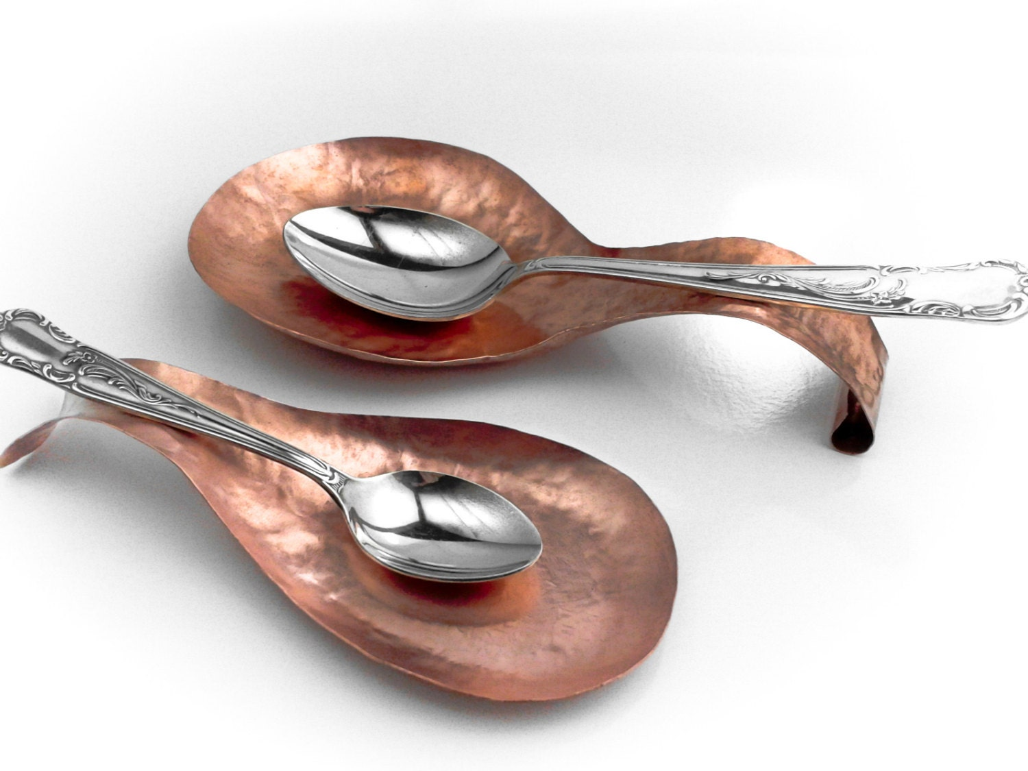 Spoon Rest Copper Handmade To Order Kitchen Accessory