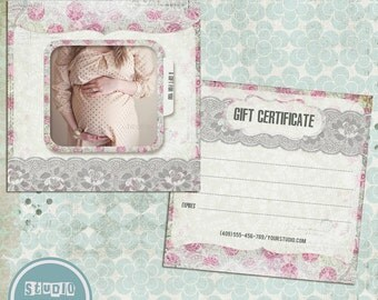 Photography Gift Certificate Template, vol. 3 - INSTANT DOWNLOAD