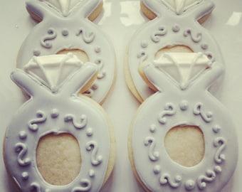 Wedding/Engagement Ring Cookies