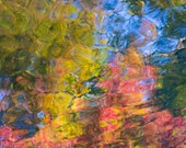 Vincent No 4, Fine Art Photography Print, Central Park Pond Reflection in Fall, New York Autumn Photograph