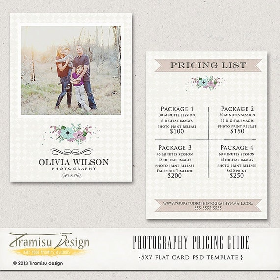 Wedding Photography Package Names: Photography Price Guide-Photography Price List Price List