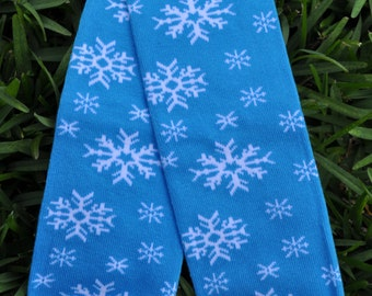 Snowflakes Leg Warmers- customize available