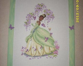 The Princess and the frog - embroidery item counted