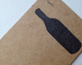 Wine Bottle - Gift Tag