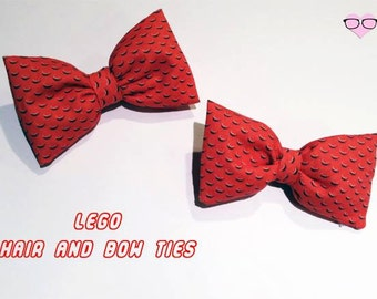 Lego Hair and Bow ties