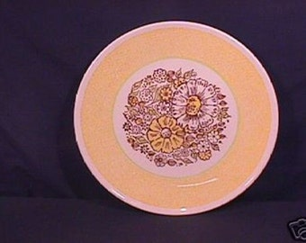 Taylor Smith Taylor Nosegay Pattern Dinner Plate