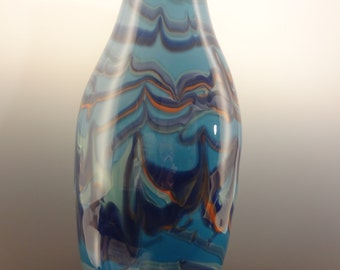 SALE!! Hand Blown Glass Vase