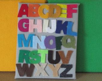 Felt Alphabet Letters - UPPERCASE
