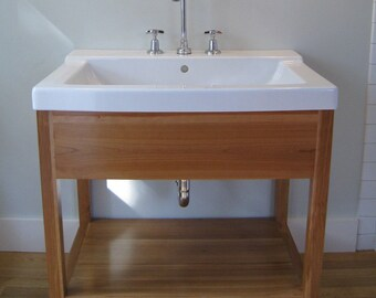 Handmade bathroom vanity - Otto Woodwork