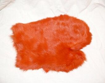 Fuzzy Bunny Mitt for Pleasurable Massage