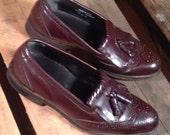 25% OFF // Size 10 // EU 43.5 // Men's Dexter Dress Shoes Tassel Kilties Wingtip Oxfords Brogue //