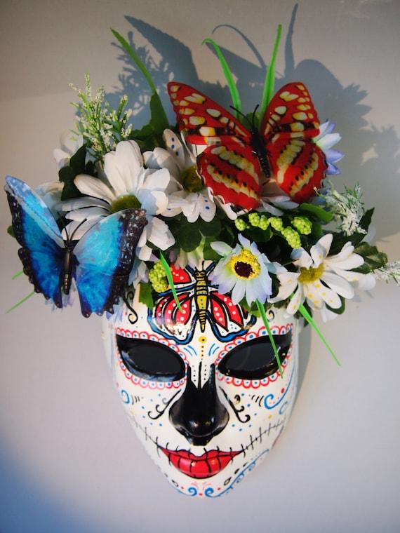 Como decorar una mascara de catrina Imagui