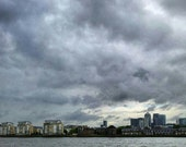 City landscape miniature photography - London Royal Docklands
