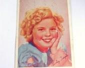 Circa 1938 Shirley Temple Advertisement Postcard for Garfinkel's Store in Poplar Bluff, Missouri
