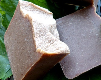 Pumpkin Soap, Homemade Soap, Vegan, Homemade Pumpkin Soap, Pumpkin Spice, 4.5-5 oz.