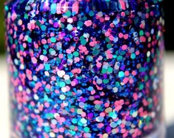 Sparkling Light Hand made custom nail polish