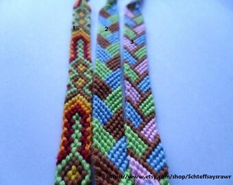Custom Friendship Bracelet