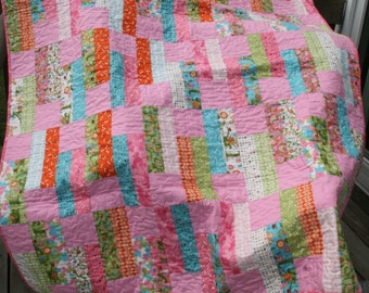 Meadow Friends Quilt -- Steppin' Out Pattern