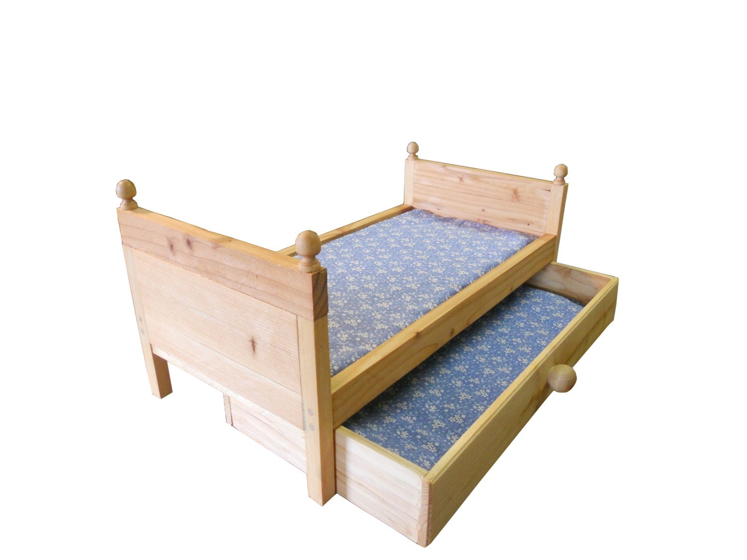 Marvelous photograph of Doll Trundle Bed fits An 18 to 20 Inch Doll And by BusyBeaverToys with #996832 color and 1500x1125 pixels