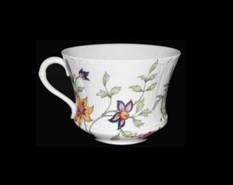 Vintage Elite Limoges Adriana Flat Cup - France