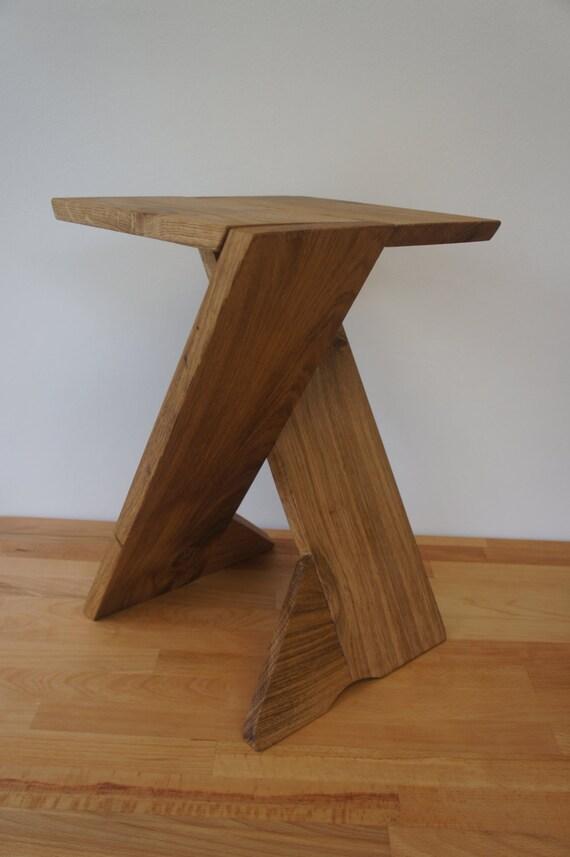 cross legs handmade contemporary folding table stool. Black Bedroom Furniture Sets. Home Design Ideas