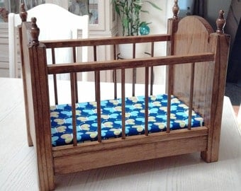 Doll Crib with mattress