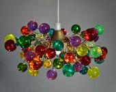 Pendant light Colorful Bubbles , Ceiling Light fixture for Kids Bedroom, Living Room - Unique Decorations for Home & Kitchen