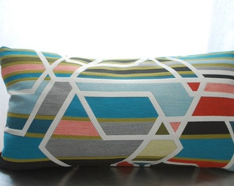 Maharam Pillow Cover - The Agency - Sarah Morris -  Modern Decorative Pillow Cover