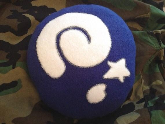 Animal Crossing fossil plush pillow
