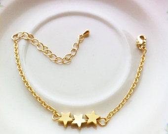 Three stars .  Gold