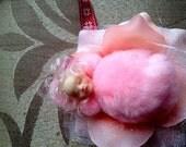 Reserved for Marie Lebally , Irish Flower Fairy baby