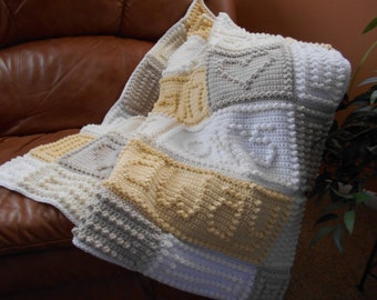 BREATH pattern for crocheted blanket