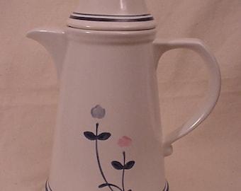 """Pfaltzgraff WINDSONG Coffee Pot, 8 1/2"""", 48 oz."""